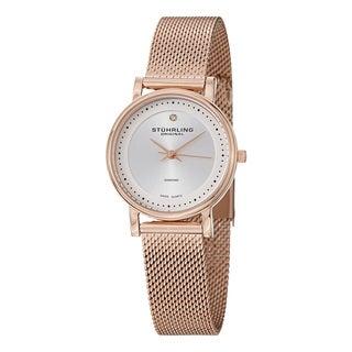 Stuhrling Original Women's Lady Casatorra Elite Swiss Quartz (Ronda 515) Bracelet Bracelet Watch