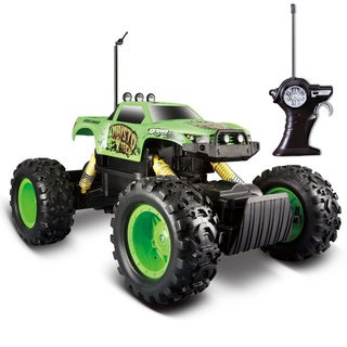 Remote Control Tri-Band Off-Road Rock Crawler Monster Truck