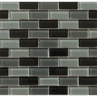 Martini Mosaic 11.75x11.75 Essen Volcanic Ash Tile Sheets (Pack of 10)