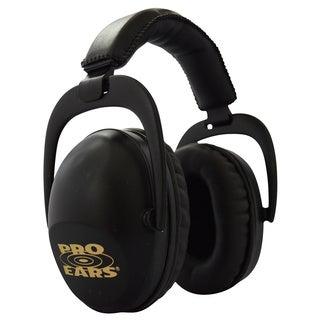 Pro Ears NRR 26 Ultra Sleek Hearing Protection Black Ear Muffs