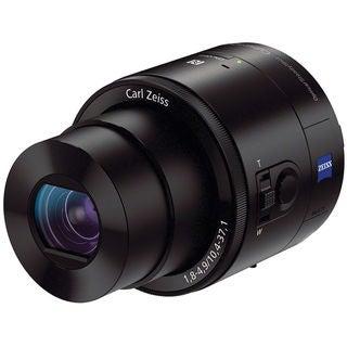 Sony DSC-QX100 20.2MP Black Smartphone Attachable Lens Style Camera