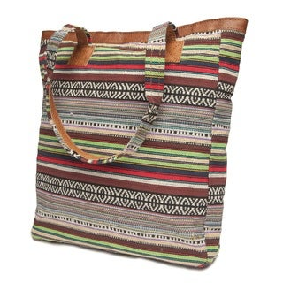 Thamel Yak Leather Tote Bag (Nepal)