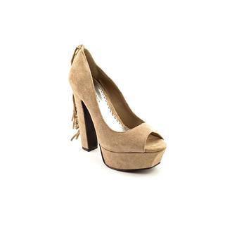 Bebe Women's 'Perlah' Regular Suede Dress Shoes