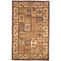 Safavieh Handmade Classic Bakhtieri Multicolored Wool Rug (6' x 9')