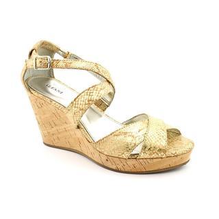 Alfani Women's 'Jersey' Tan Man-Made Sandals