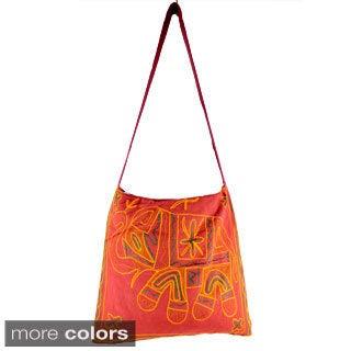 Handmade Elephant Cross-body Bag (India)