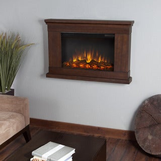 Real Flame 'Jackson' Vintage Black Maple Electric Fireplace