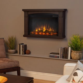 Real Flame 'Brighton' Chestnut Oak Electric Fireplace