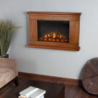 Real Flame 'Jackson' Pecan Electric Fireplace