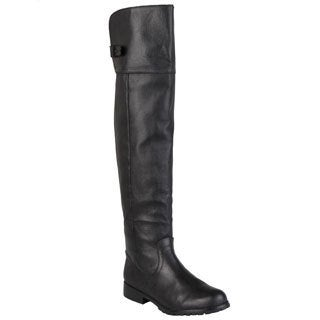 Steve Madden Women's 'Monty' Buckle Detail Pull-on Boots