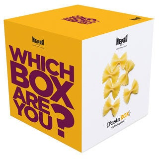 Mepra Which Box Are You? Pasta Box