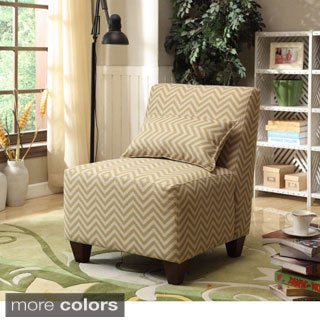 Large Patterned Accent Chair