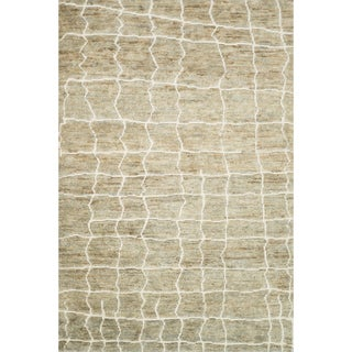 "Hand Knotted Phoenix Rug Blonde (5'6""X8'6"")"
