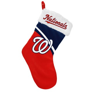 Forever Collectibles MLB Washington Nationals Swoop Logo Stocking