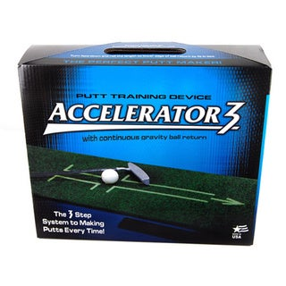 Accelerator 3 Portable Putting Mat/ Putter Training