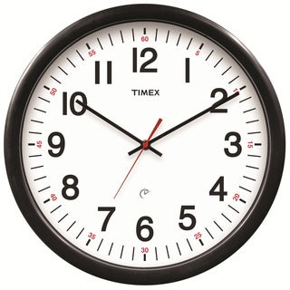 Timex 5-Year Set and Forget 14.5-inch Wall Clock