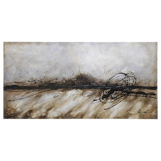 Dominic Lecavalier 'Time Passing' Canvas Art
