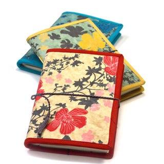 Handmade Spring Flower Journal (India)