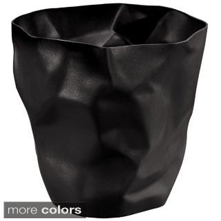Modway Lava Modern Black Trash Bin