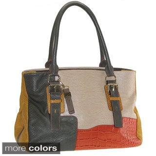 Buxton Victoria Leather Satchel