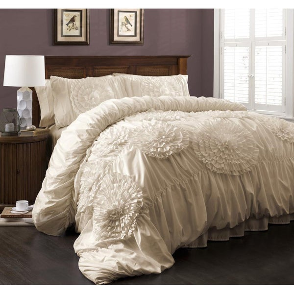 Lush Decor Serena 3-Piece Comforter Set