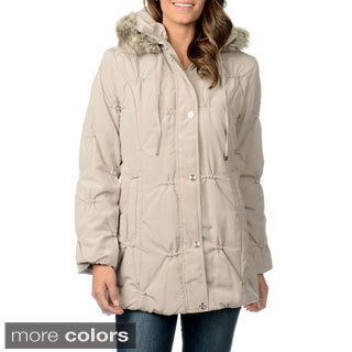 Fleet Street Women's Puckered Coat