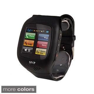 SVP G14 Unlocked Sliver Camera GSM Quad-band Watch Phone
