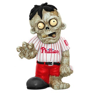Forever Collectibles MLB Philadelphia Phillies 9-inch Zombie Figurine