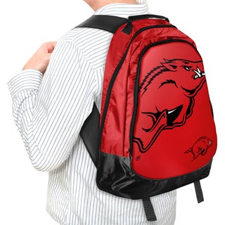 Forever Collectibles NCAA Arkansas Razorbacks 19-inch Structured Backpack