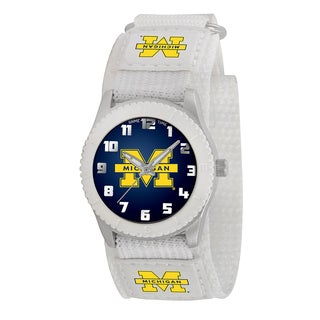 Game Time NCAA Michigan Wolverines White Rookie Series Watch