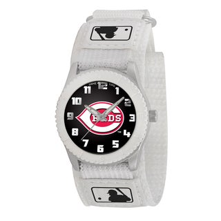 Game Time MLB Cincinnati Reds White Rookie Series Watch