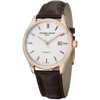 Frederique Constant Men's FC-303V5B4 'Index' Rose Goldtone Watch