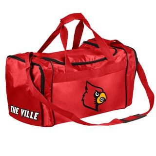 Forever Collectibles NCAA Louisville Cardinals 21-inch Core Duffle Bag