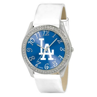 Game Time Los Angeles Dodgers Women's Glitz Patent Leather Watch