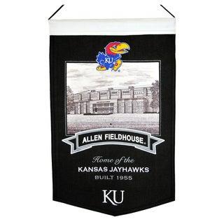 NCAA Kansas Jayhawks Wool Stadium Banner