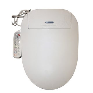 Bidet4me Electric Bidet White Electronic Seat with Dryer (E-300A)
