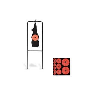Birchwood Casey Prairie Chuck Silhouette Metal Target with Free Targets