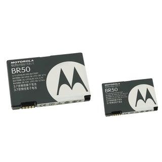 Motorola Rechargeable Standard OEM Battery SNN5696A/ BR50 for Motorola V3 RAZR (Pack of 2)