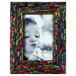 Bangle Bracelet Handmade 4 x 6 Picture Frame