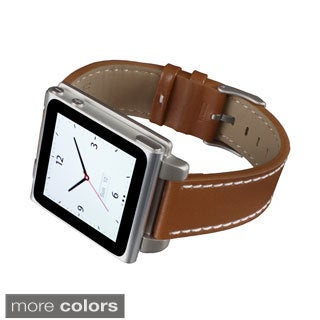Hex Vision iPod Nano Gen 6 Classic Leather Watch Band