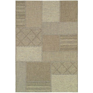 "Tides Rockville Cream-Cocoa Rug (7'10"" x 10'10"")"