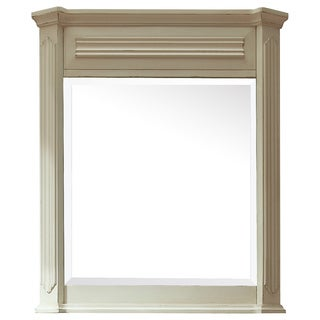 Avanity Kingswood 30-inch Mirror in Distressed White finish