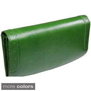 Castello Italian Leather Long Women Wallet