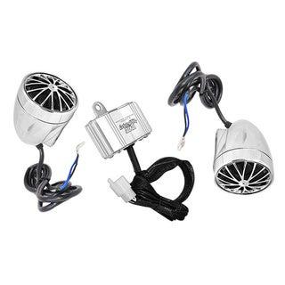 Pyle 400-watt Motorcycle/ATV/Snowmobile Mount Amplifier and Speakers