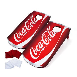 Portable Coca Cola Cornhole Game