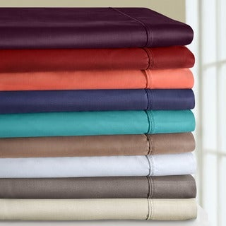 Luxor Treasures Cotton Blend 800 Thread Count Wrinkle-resistant Sheet Set and Pillowcase Separates