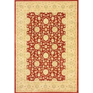nuLOOM Traditional Ziegler Keshan Red Rug (5'3 x 7'7)