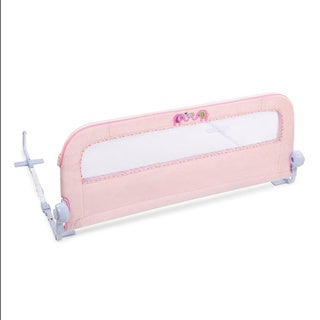Summer Infant Safe & Secure Deluxe Pink 'n Plush Bedrail