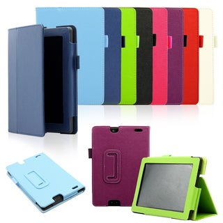 Gearonic Folding PU Leather Case Cover for 2013 Kindle Fire HD 7 2nd Gen