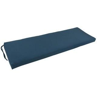 Blazing Needles 60-Inch x 19-Inch Twill Three-Seater Bench Cushion